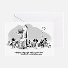 PerryCampaign Greeting Card