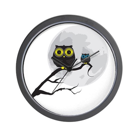 Owl final Wall Clock