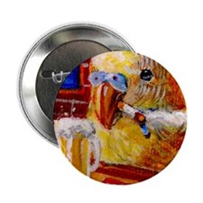 """Birdy Goes Bad. 2.25"""" Button"""