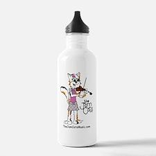 Jezzie with Violin Water Bottle