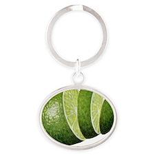 lime-RDMAG Oval Keychain