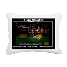 PBGV Rectangular Canvas Pillow