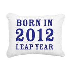 2012 blue Rectangular Canvas Pillow