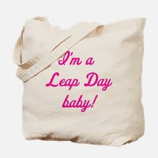 leap day baby pink Tote Bag