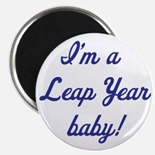 leap year baby blue Magnet