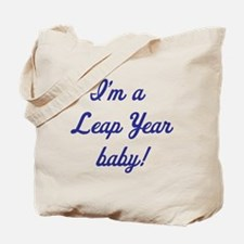 leap year baby blue Tote Bag