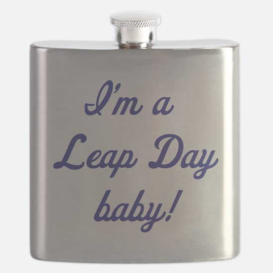 leap day baby blue Flask