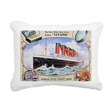 RMS_Titanic_1 Rectangular Canvas Pillow