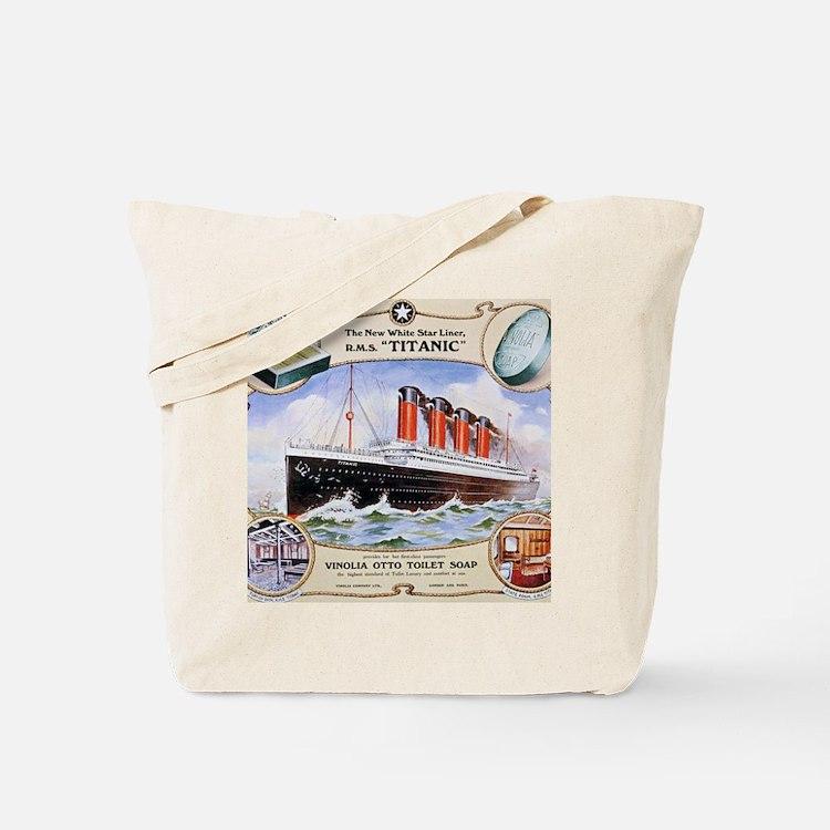 RMS_Titanic_1 Tote Bag