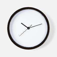 Drive for show putt for dough_Dark Wall Clock