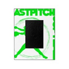 green2, Fastpitch trio Picture Frame