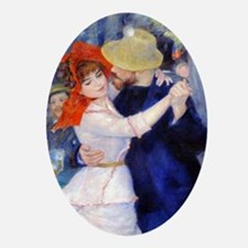 Renoir Mag33 Oval Ornament