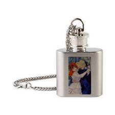 Renoir Mag33 Flask Necklace