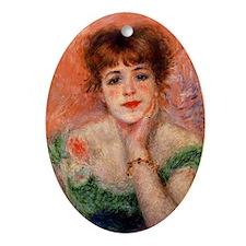 Renoir Mag35 Oval Ornament