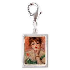 Renoir Mag35 Silver Portrait Charm