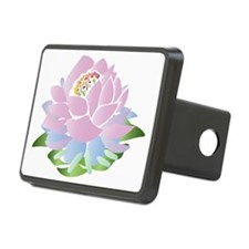 lotus_pastel Hitch Cover