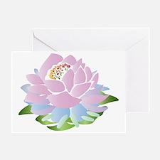 lotus_pastel Greeting Card