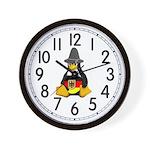 German Tux Wall Clock