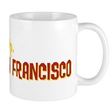 wakeUpSanFrancisco_tshirt_light Mug