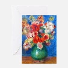 K/N Renoir Bouq Greeting Card