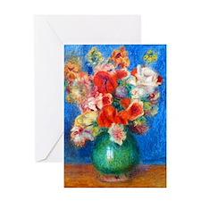 iPad Renoir Bouq Greeting Card