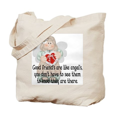 Good Friend's are like Angel' Tote Bag