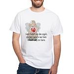 Good Friend's are like Angel' White T-Shirt