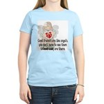 Good Friend's are like Angel' Women's Light T-Shir