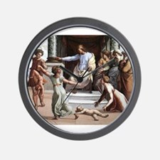 The Judgement of Solomon - Raphael Wall Clock