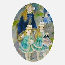 Journal Renoir Prom Oval Ornament