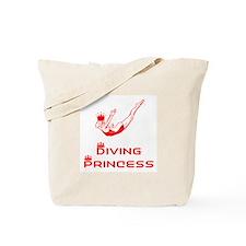 DiveChick Princess Tote Bag