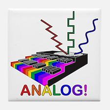 Analog! Tile Coaster