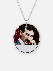 Tesla_white Necklace