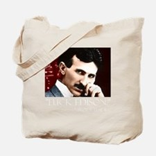 Tesla_white Tote Bag