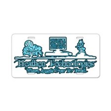 ht-blue Aluminum License Plate