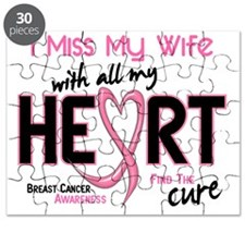 - Miss With All My Heart Wife Breast Cancer Puzzle