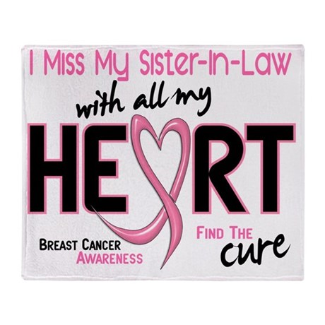 - Miss With All My Heart Sister-In-L Throw Blanket