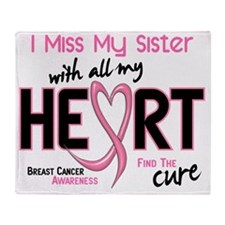 - Miss With All My Heart Sister Brea Throw Blanket