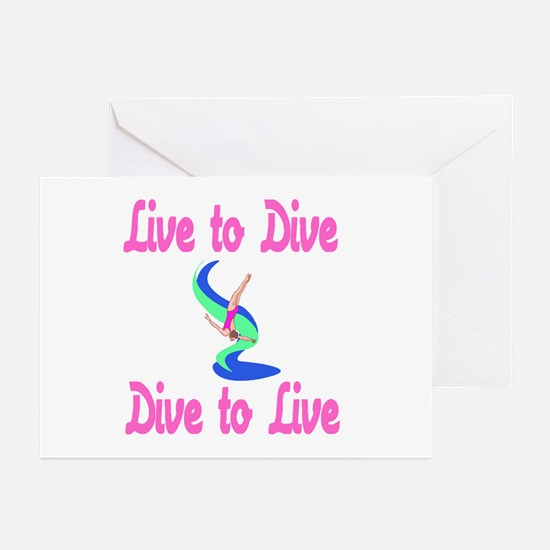 DiveChick LTD Greeting Cards (Pk of 10)