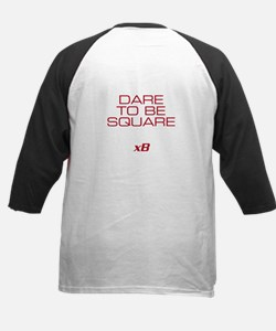 Dare To Be Square version 2 Kids Baseball Jersey