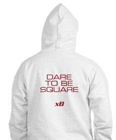 Dare To Be Square version 2 Hoodie