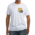 Dare To Be Square version 2 Fitted T-Shirt
