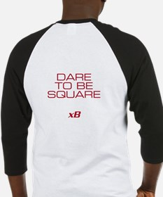 Dare To Be Square version 2 Baseball Jersey