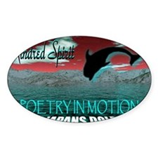 poetry in motion Decal