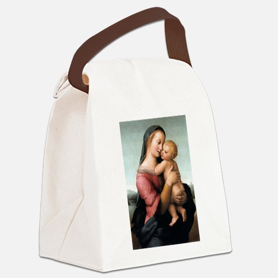The Tempi Madonna - Raphael Canvas Lunch Bag