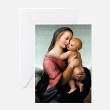 The Tempi Madonna - Raphael Greeting Card