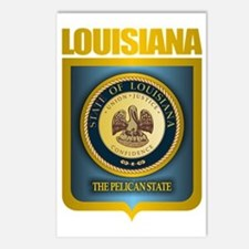 Louisiana (Gold Label) Postcards (Package of 8)