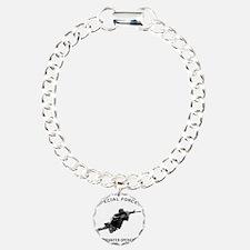 10x10_apparel JB wht tex Bracelet