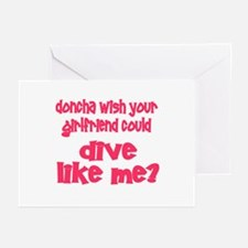 DiveChick's Doncha Greeting Cards (Pk of 10)