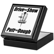 Drive for show putt for dough_Light Keepsake Box